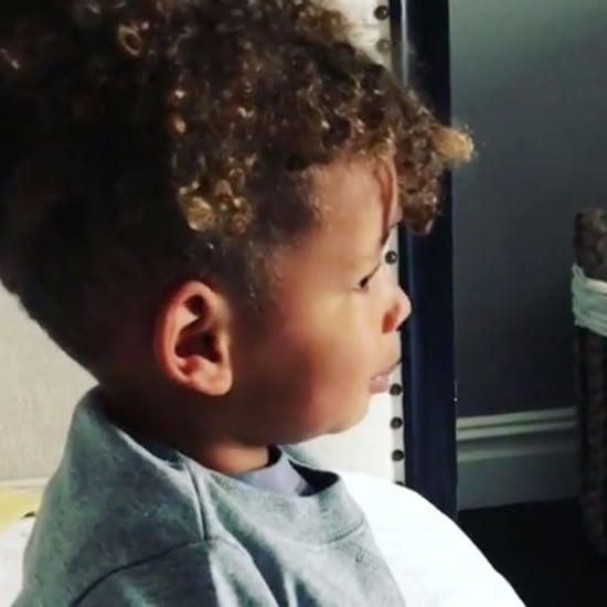 Alicia Keys's Son Beatboxing Video April 2017