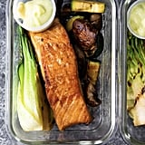 Low-Carb Wasabi Grilled Salmon Bowls