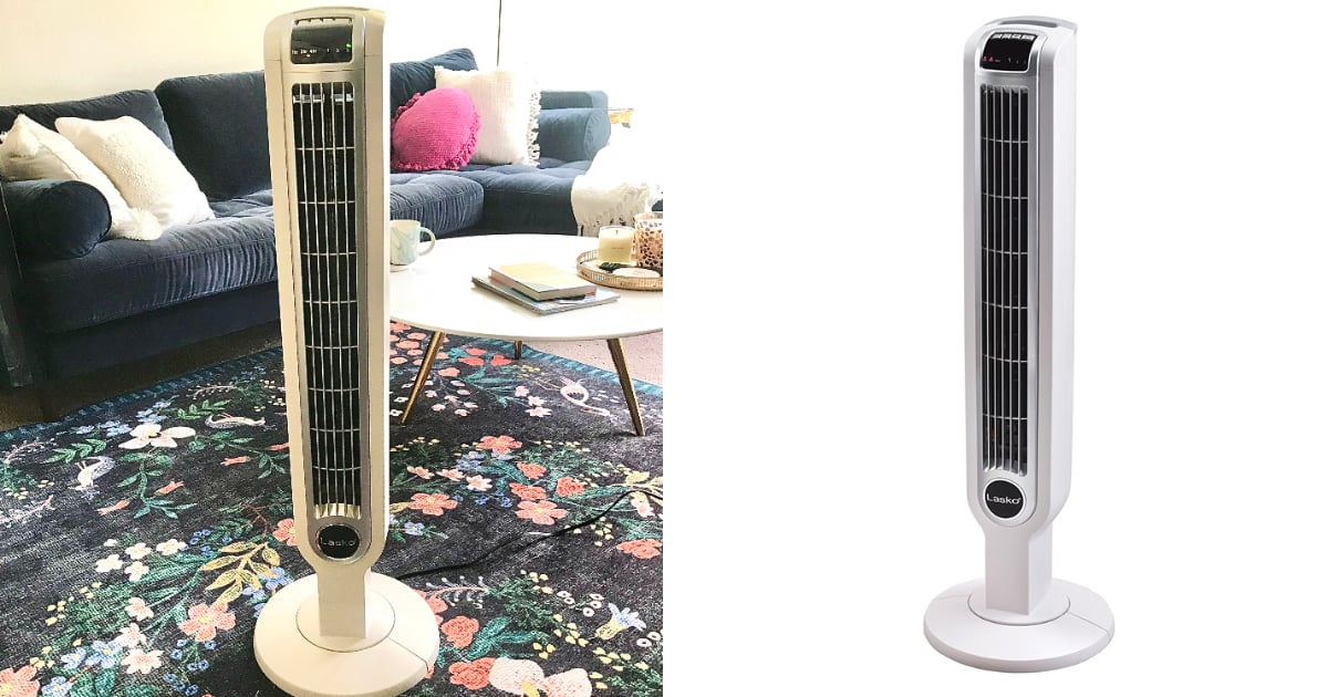 This Quiet Tower Fan Is the Only Thing That Keeps Me Cool While I Sleep