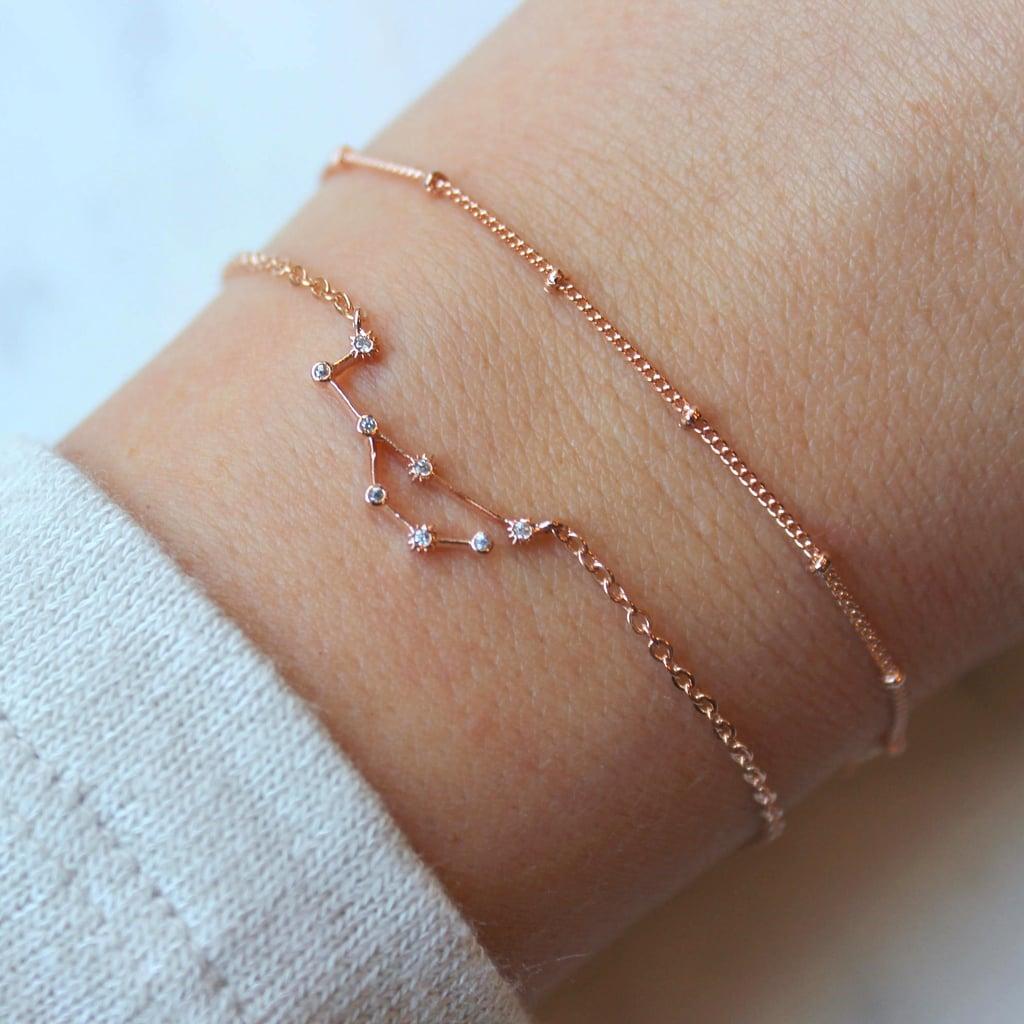 Cute Zodiac Sign Bracelet on Etsy