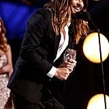 Jared Leto Wins Big and Smiles Even Bigger