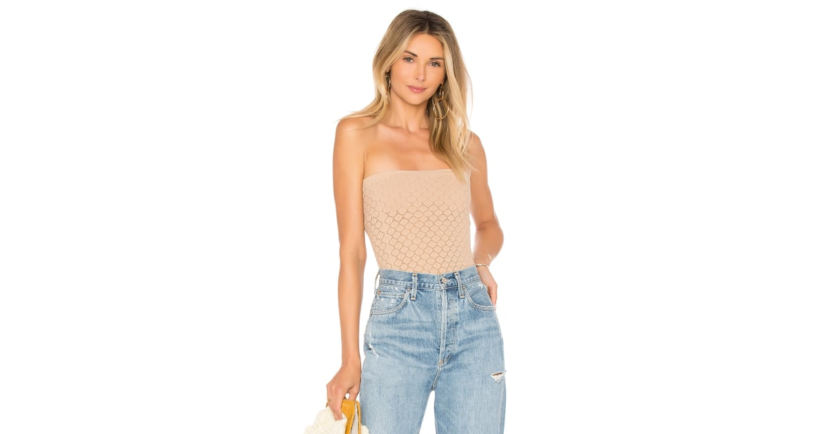 48fdc7475c49 Free People Diamond Textured Seamless Tube Top