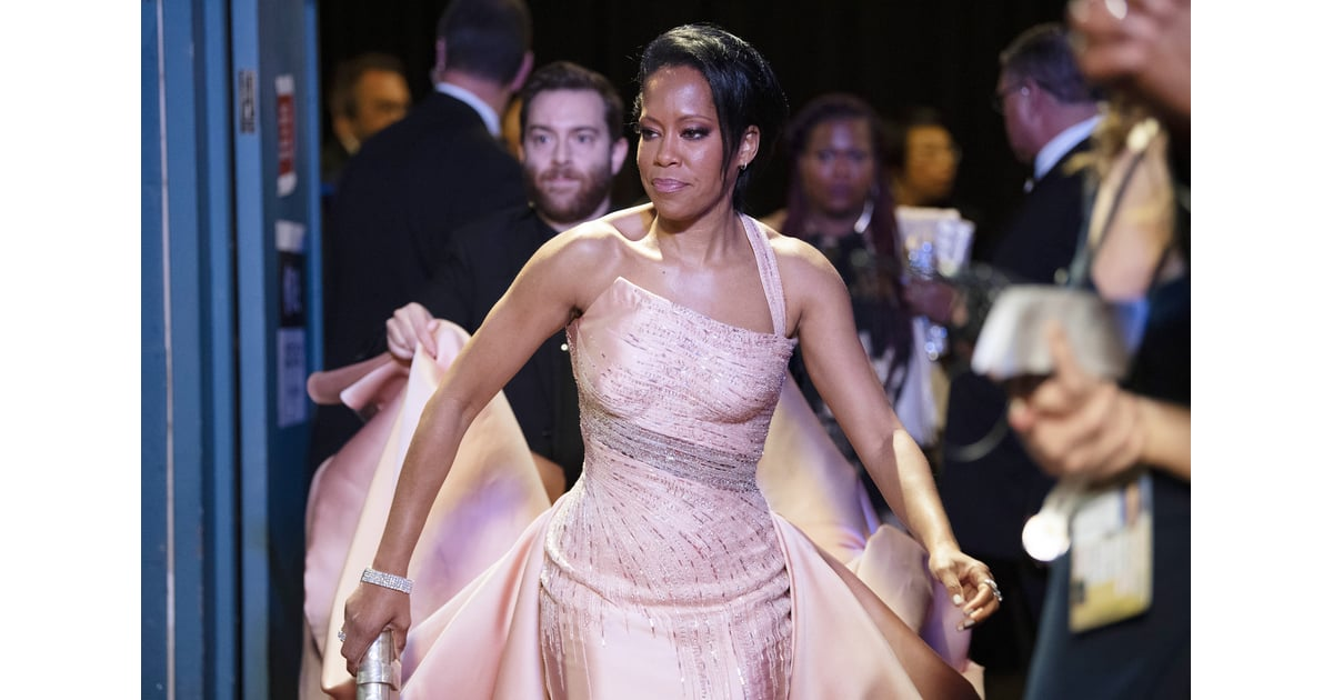 Regina King At The 2020 Oscars These Are The Best Pictures From The 2020 Oscars Popsugar Celebrity Photo 28