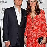 Livia Firth and Colin Firth cohosted a party at LA's Chateau Marmont.