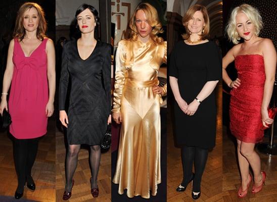 Best Dressed at the Evening Standard Film Awards