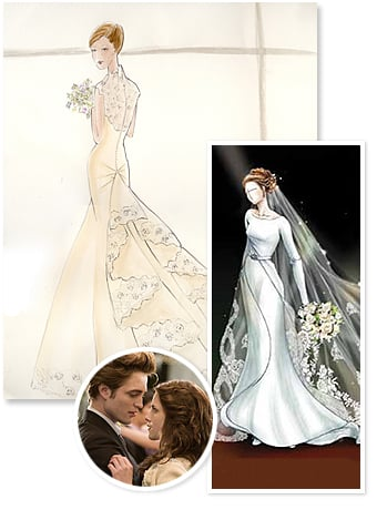 7e0cfa960a8 we can t wait for the first glimpse of Bella and Edward s wedding day in  the upcoming movie The Twilight Saga  Breaking Dawn
