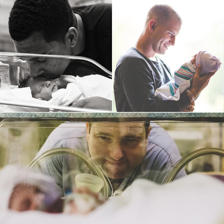 See Dads Meeting Their Babies for the First Time