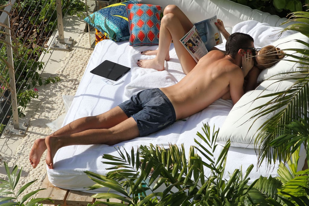 Whitney Port and then-boyfriend Ben Nemtin couldn't keep their hands off each other during a Hawaii pool day in October 2010.