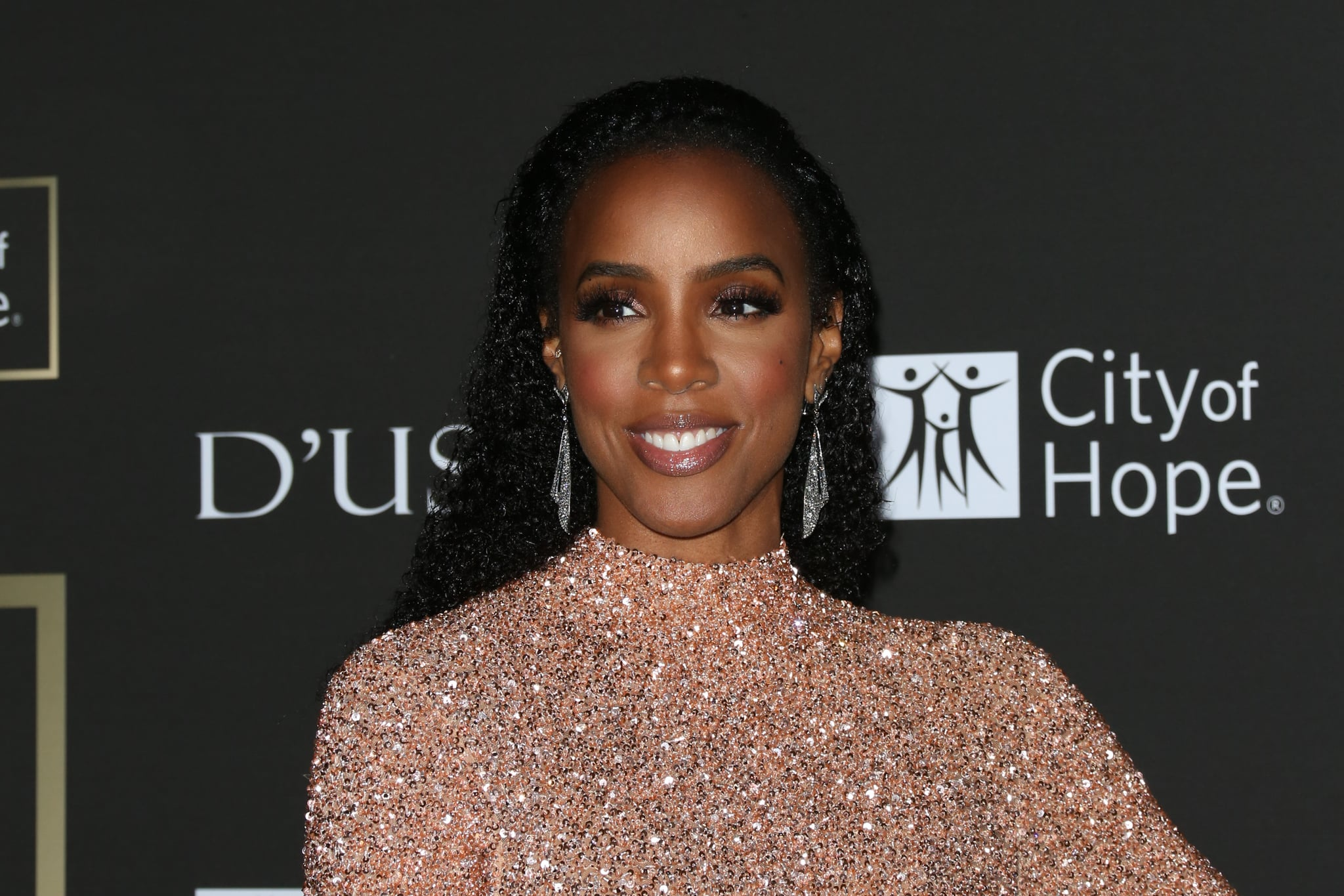 LOS ANGELES, CA - OCTOBER 11:  Singer Kelly Rowland attends the City Of Hope Gala on October 11, 2018 in Los Angeles, California.  (Photo by Paul Archuleta/FilmMagic)