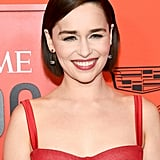 Emilia Clarke's Soft Brown Bob