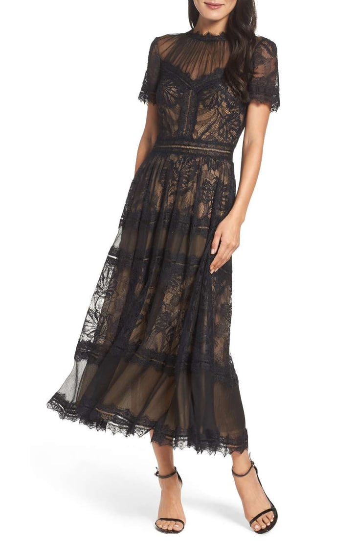 Keys Made Near Me >> Tadashi Shoji Women's Lace Tea-Length Dress | Wedding ...