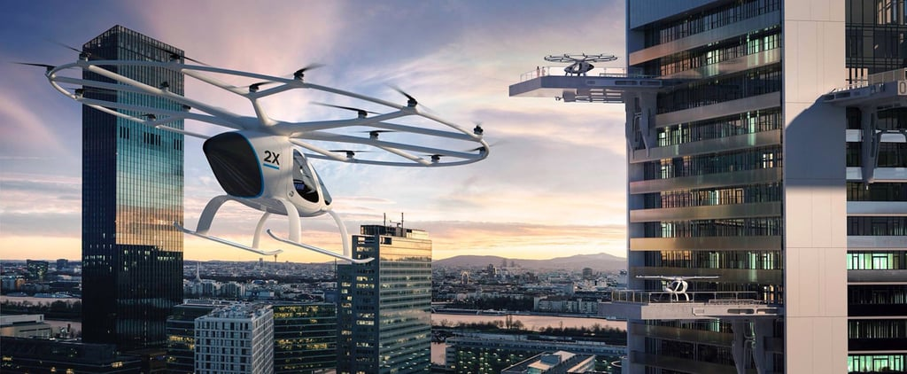 New Photos of Dubai's Flying Taxis Will Give You a Look at the Future of the City