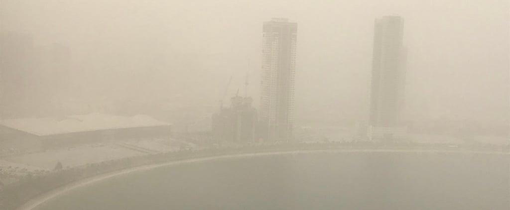 تغريدات مضحكة عن عاصفة دبي الرمليّة في مايو 2018