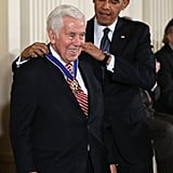Former US Senator Richard Lugar received the Presidential Medal of Freedom.