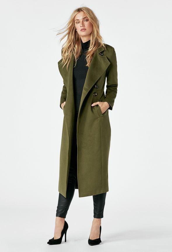 Military Wool Coat