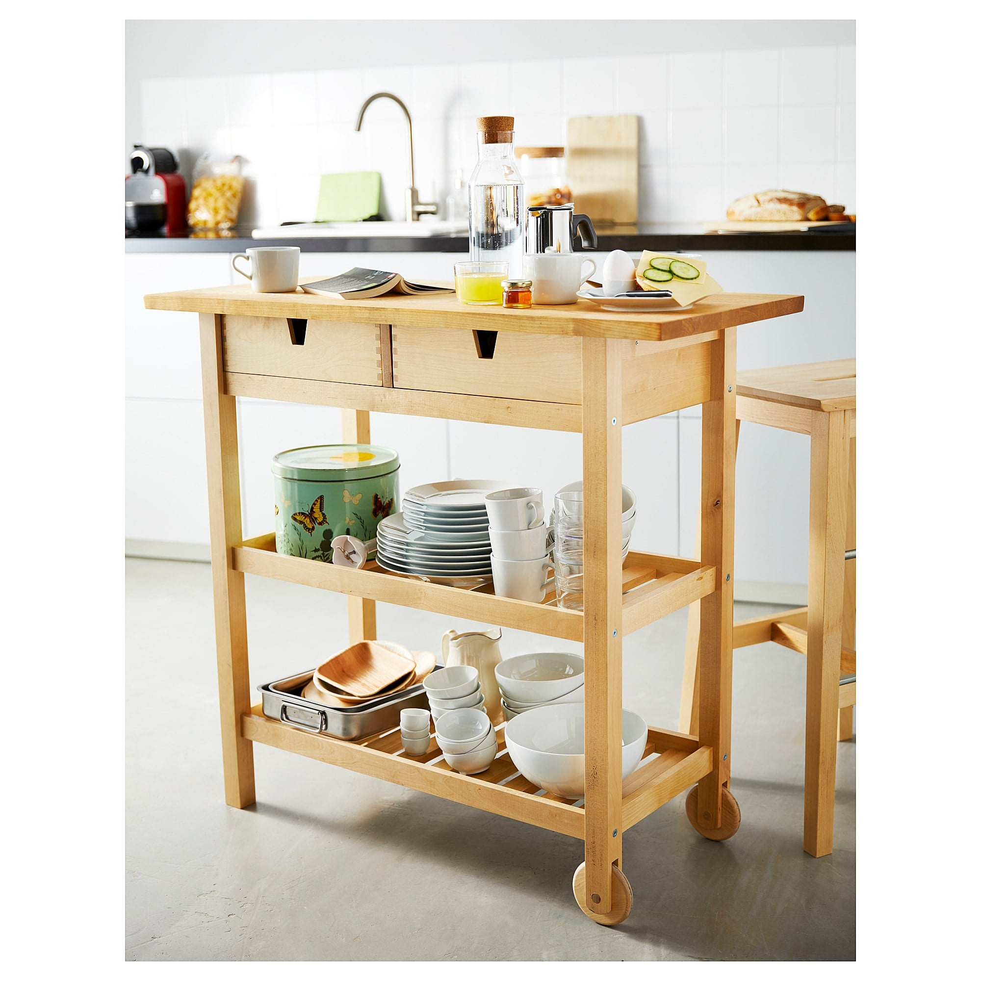 Picture of: Best Ikea Kitchen Furniture With Storage Popsugar Home