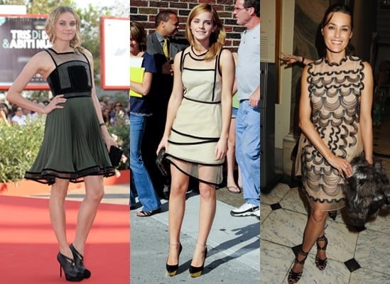 Photos of Celebrities in Christopher Kane Dresses