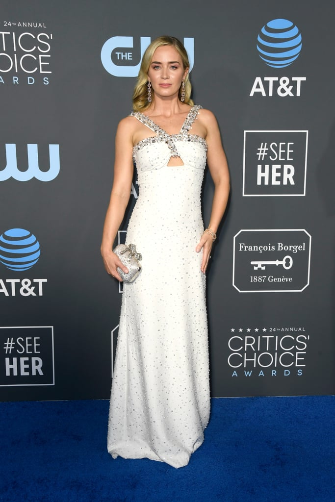 Emily Blunt at the 2019 Critics' Choice Awards