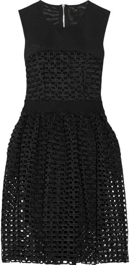 Maje Restano Guipure Lace and Tulle Dress ($159)