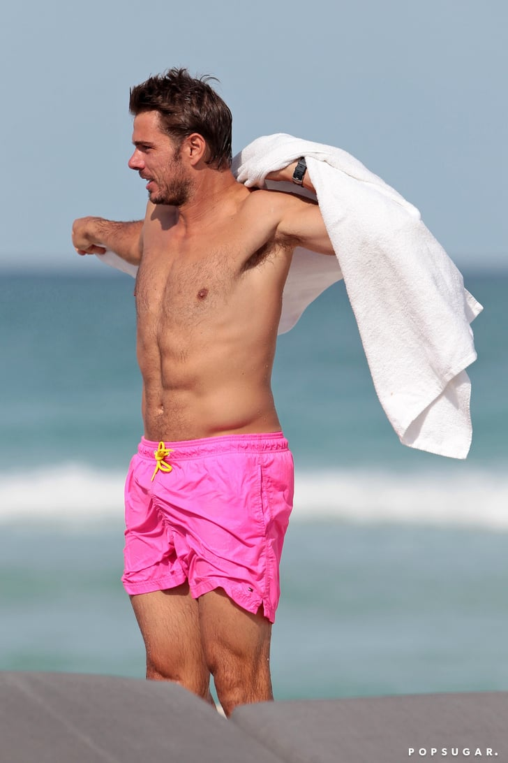 Everything I Know About Surviving >> Stan Wawrinka Shirtless Pictures | POPSUGAR Celebrity Photo 4