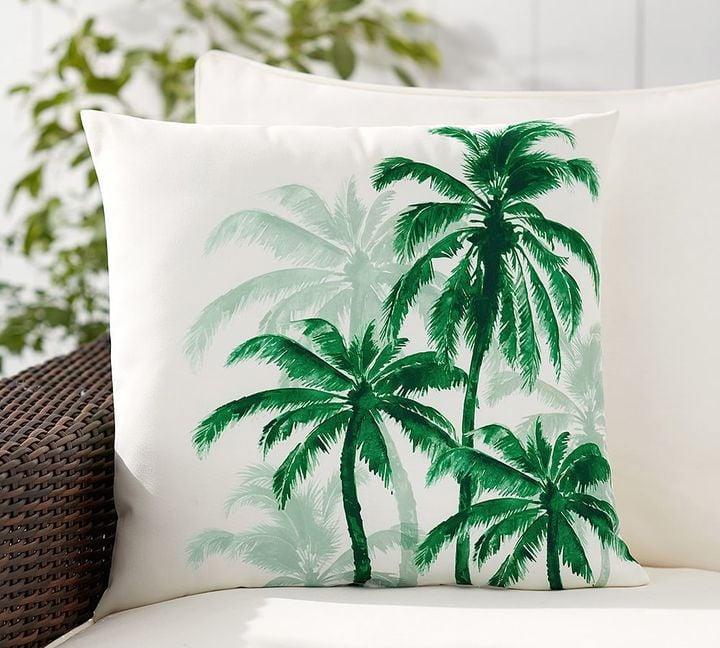 Palm Trees Print Indoor Outdoor Pillow 40 Outdoor