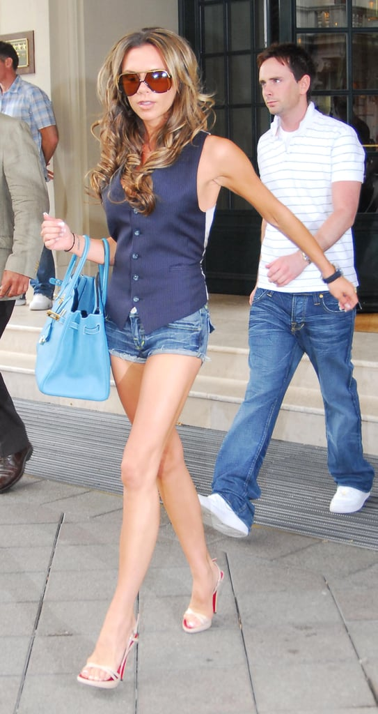 And Loved a Cutout Detail as Striking as Her Blue Birkin