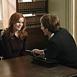 Marcia Cross as Bree and Scott Bakula as Trip on Desperate Housewives. Photo courtesy of ABC