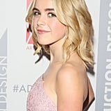 Kiernan Shipka With Blond Hair in 2015