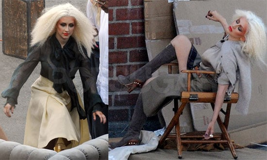 Photos of Christina Aguilera In Dramatic Makeup For a Photoshoot