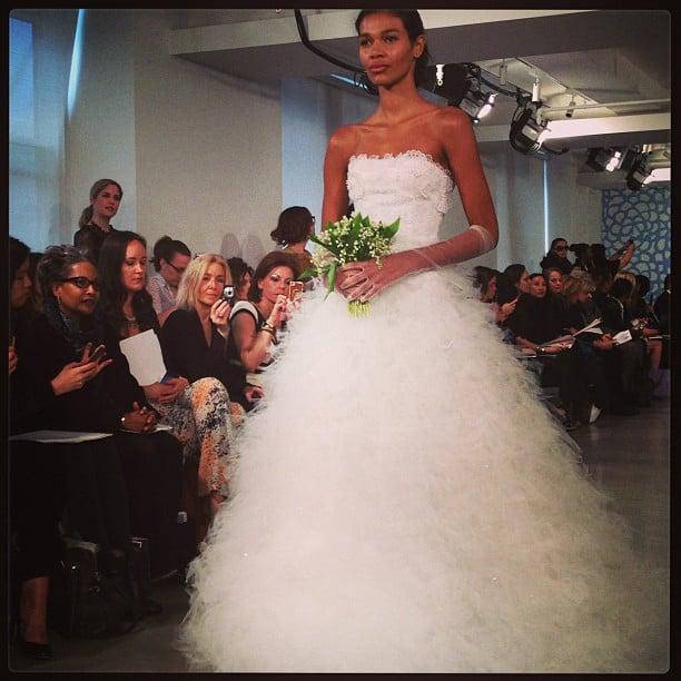 The ultimate in romance from Oscar de la Renta.