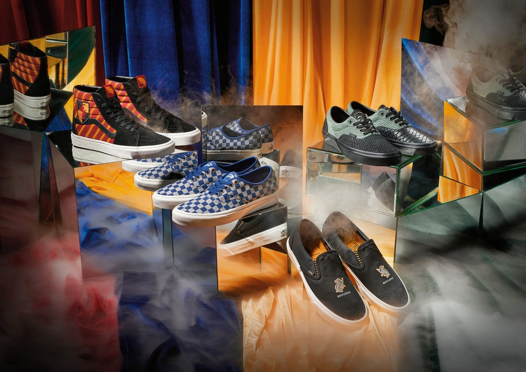 Vans Just Teased Its Harry Potter Sneaker Collection, and Dibs on the Gryffindor High-Tops!