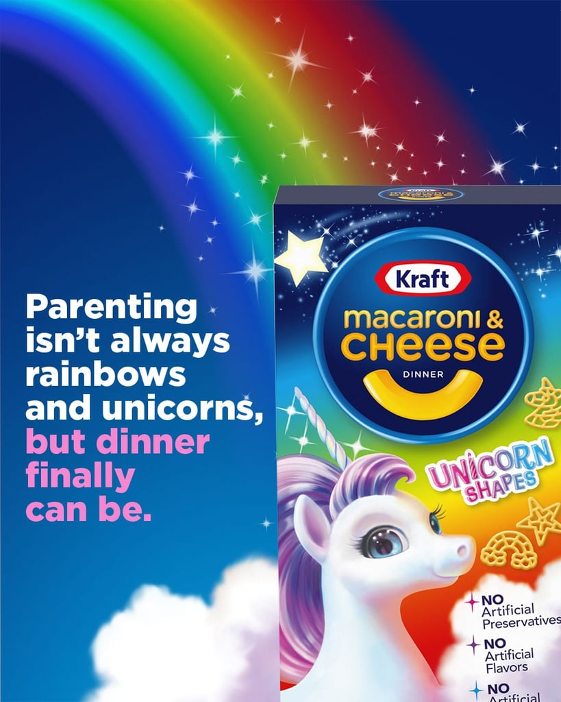 Kraft Created Unicorn Macaroni and Cheese, and We've Fallen Under Its Spell