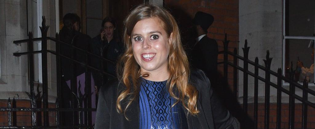 Princess Beatrice's Fringe Jacket October 2018