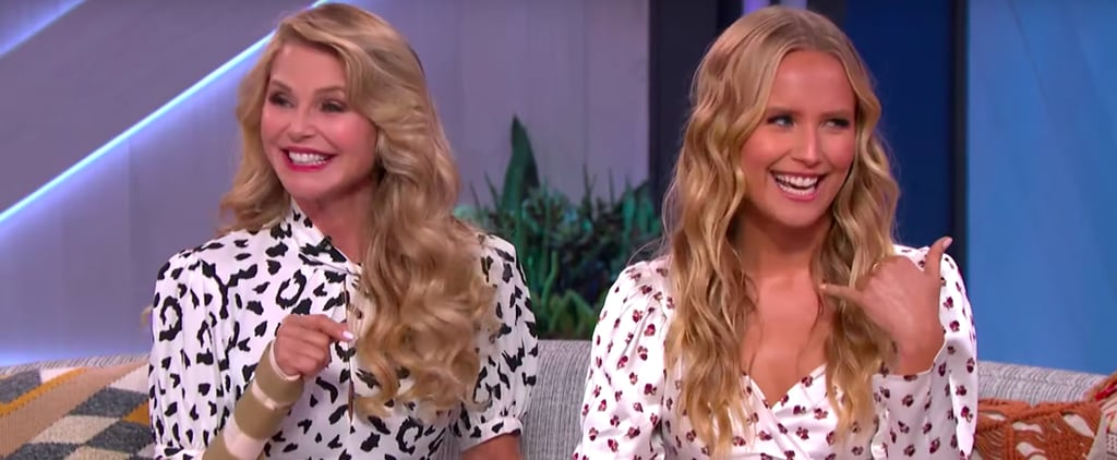 Watch Sailor Brinkley-Cook Impersonate Mom Christie Brinkley