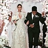 Chanel Iman's Zuhair Murad Wedding Dress