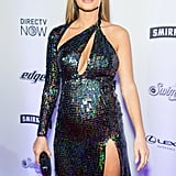 Hannah Jeter Wore the Most Incredible Maternity Dress You Might Ever See