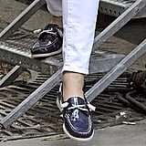Patent Boat Shoes