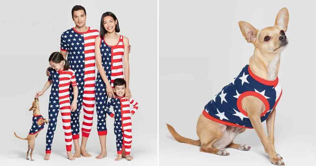 Matching Family Fourth of July Pajamas at Target