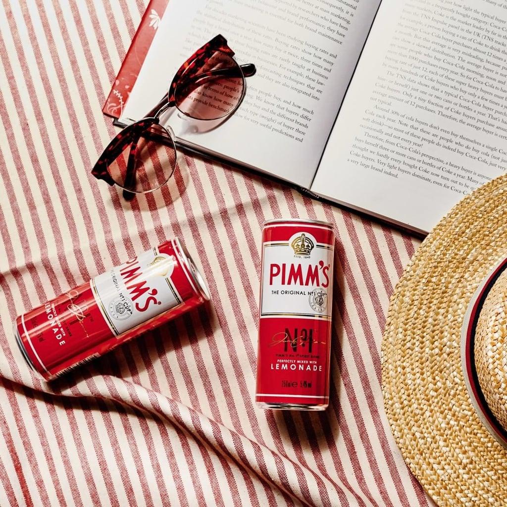 Pimm's No1 and Lemonade