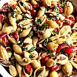 Tomato, Scallion, and Roasted Bell Pepper Pasta Salad