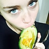 She handed out avocados at the VMAs on Sunday night, and we know that they're one of her favorite pieces of produce. She even has one tattooed on her arm.
