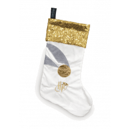 Harry Potter Christmas Magic Golden Snitch Stocking