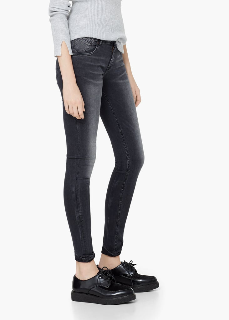 MANGO Push-Up Uptown Jeans ($70)