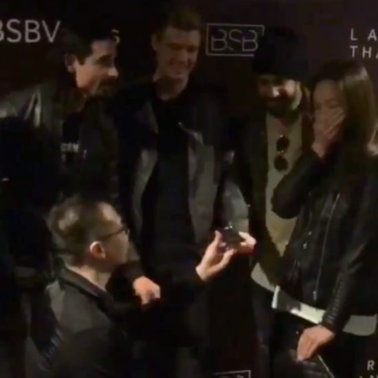 Backstreet Boys Help a Couple Get Engaged  2017 April