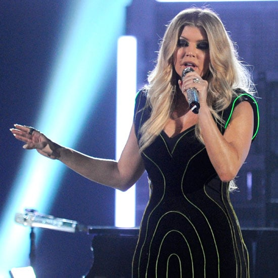 Fergie's Light Dress at the 2011 Billboard Music Awards