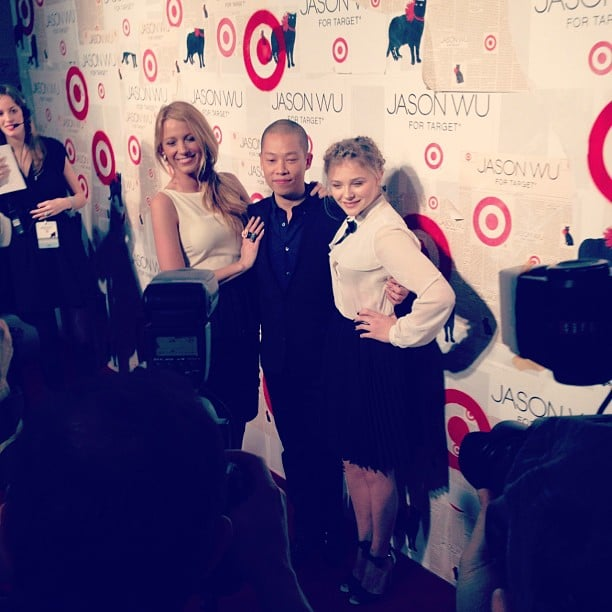 We celebrated the launch of Jason Wu for Target along with Blake Lively and Chloë Moretz.