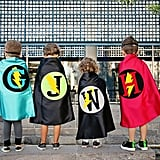 Personalized superhero Costumes