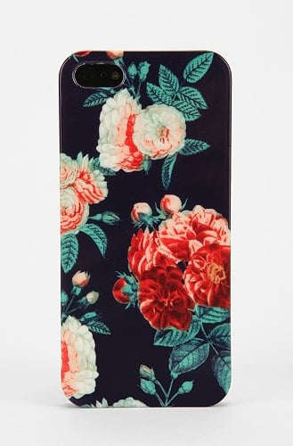 UO Navy Chintz iPhone 5 Case