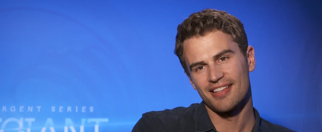 "Theo James on His Divergent Costars: ""We Know Most of Each Other's Darkest Secrets"""