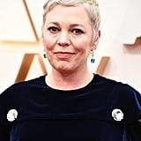 Olivia Colman's Blonde Hair at the Oscars 2020